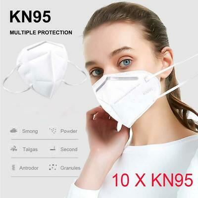 10 x KN95 N95 Face Mask Reusable Mouth Guard Anti Particle Enhanced Respirator