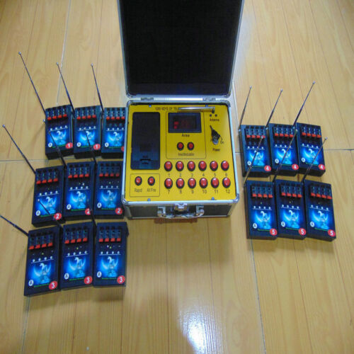 Digital Remote display Quick shipping+60Cues fireworks firing system copper wire