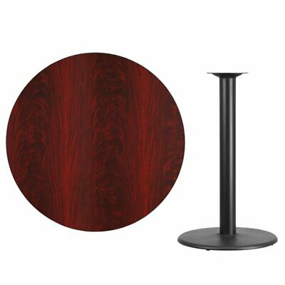 Black Round Bar Table - Bowery Hill 42