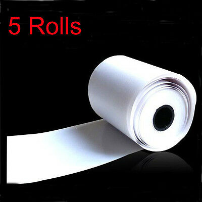 5pcs Thermal Paper Cash Register Receipt Roll For Mobile 58mm 30mm Mini Printer