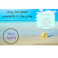 Spring Into Summer Accountability/Motivation Group