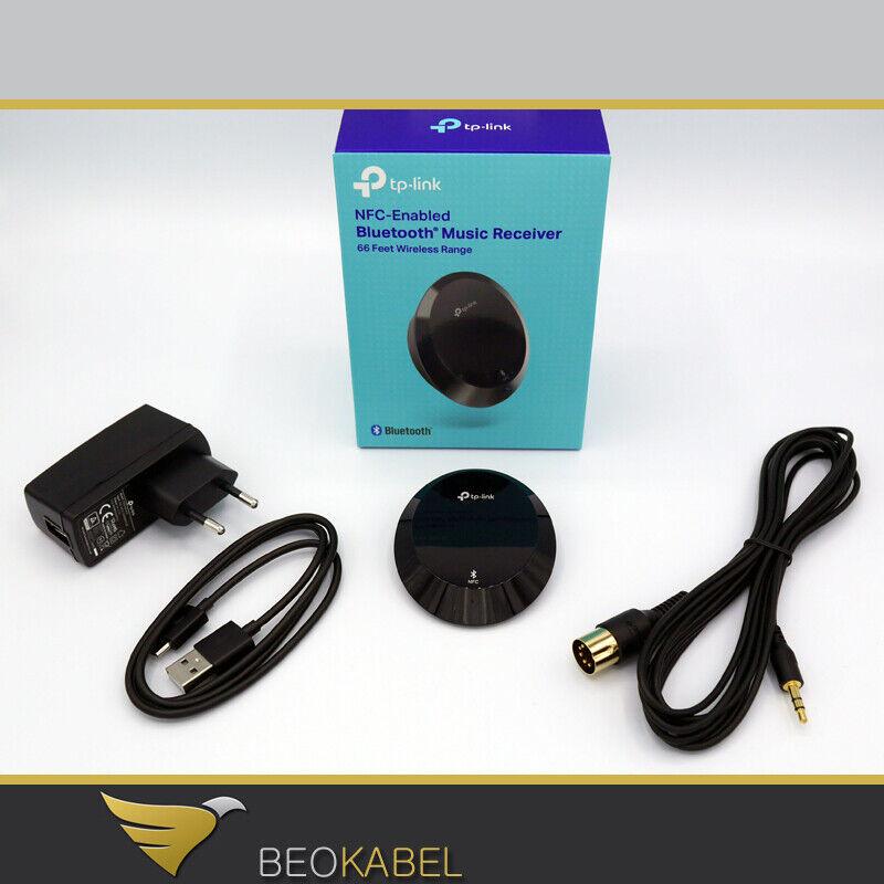 Bluetooth für Bang Olufsen Beomaster Adapter Set  für Beo AUX Buchse
