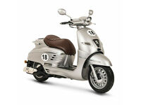 PEUGEOT DJANGO SPORT 125 SBC - SPORTS SCOOTER - LEANER LEGAL - TWIST & GO