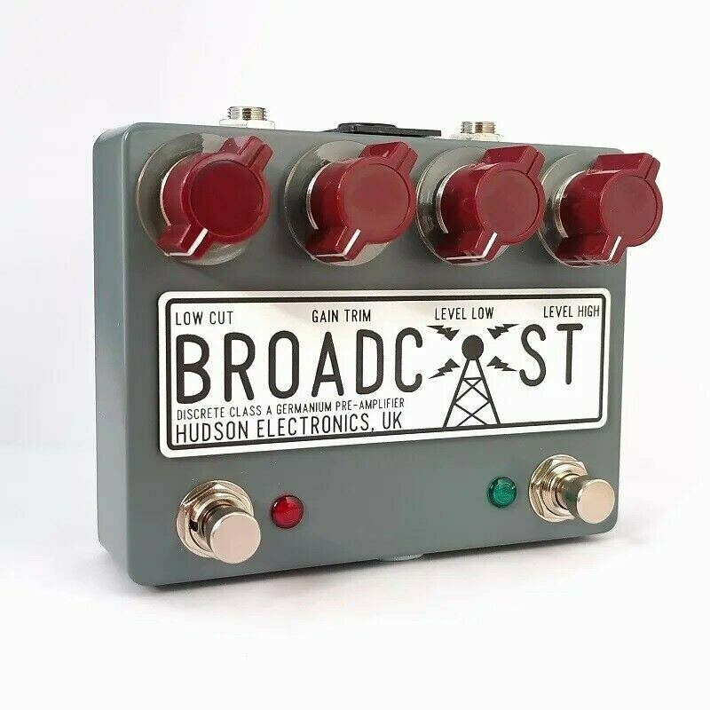 Hudson Electronics Broadcast Dual Footswitch *Free Shipping in the USA*