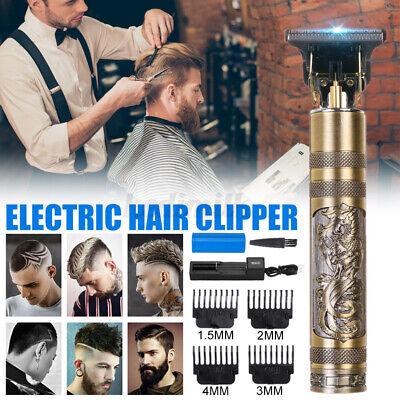 Men Pro Hair Trimmer Clippers Shaving Machine Cutting Beard Cordless Barber W