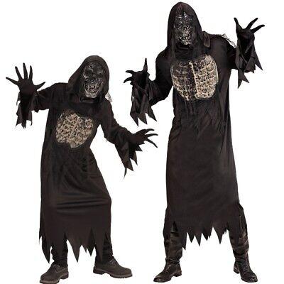 DÄMON Geist Zombie Horror PARTNER Kostüm Erwachsene Kinder Jugendliche - Zombie Kostüm Männliche