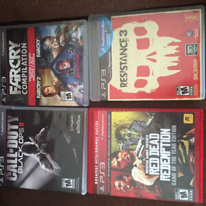 PS3/2 GAMES FOR SALE