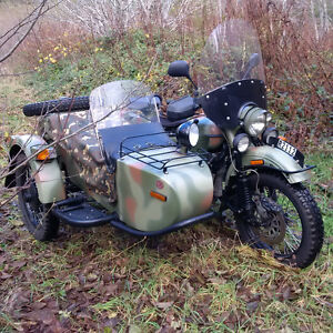 2008 Ural Gear-up 2WD w/ side car