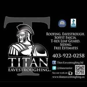 Looking for Professional  Eavestrough  installer