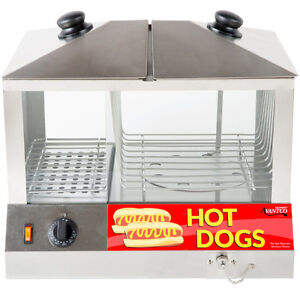 Hot Dog Steamer 100pcs & Bun warmer 48pcs - 120V, 1300W Kitchener / Waterloo Kitchener Area image 2