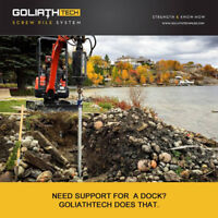 GoliathTech Screw Pile System-12 Years of Quality & Experience