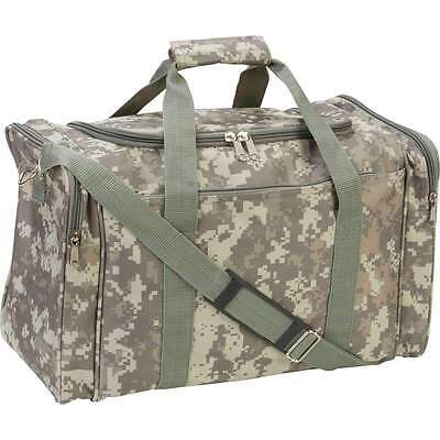 "17"" Tactical Military Digital Camo Duffle Bag Ammo Range Gear Bag WaterResistant"