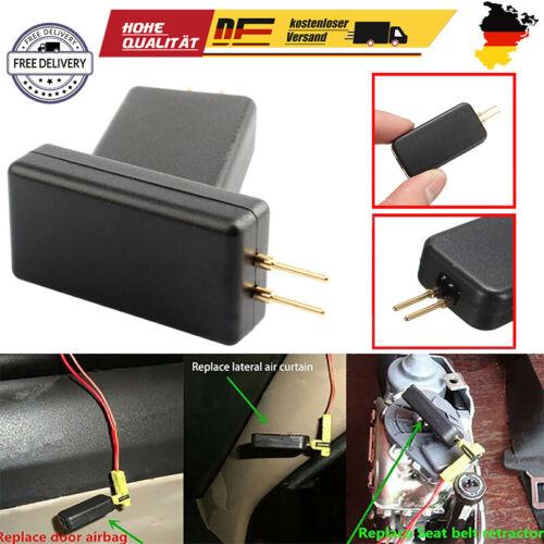 Seitenairbag Airbag Deaktivierung Stecker Widerstand Gurtstraffer Modul
