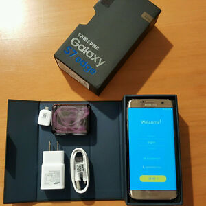 Brand new Sealed Samsung Galaxy S7 EDGE - Black
