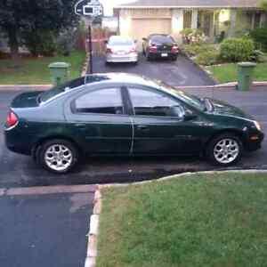 2000 Dodge Neon lx Auto only 75000km