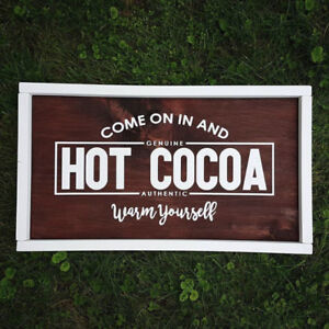 Handcrafted Wooden Signs