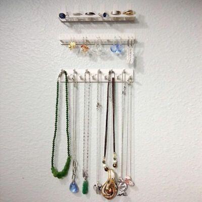9PCS Jewelry Wall Hanger Holder Stand Organizer Bracelet Necklace Earring Rack