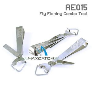 Stainless steel fly fishing nippers knot tying hook hone for Fly fishing nippers