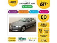 Jaguar XF 2.2TD ( 163ps ) ( s/s ) Auto 2013MY Luxury FROM £67 PER WEEK !