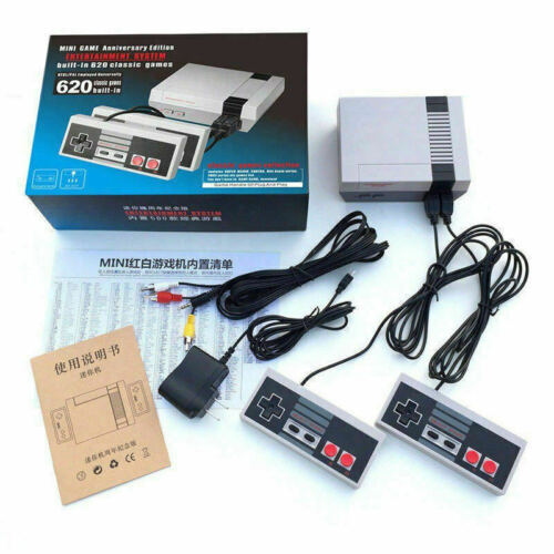 620 Games Classic Edition Mini Game Console for NES Retro TV