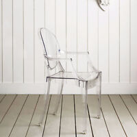 chaise wazo louis, transparent, ghost, chaise louis ghost