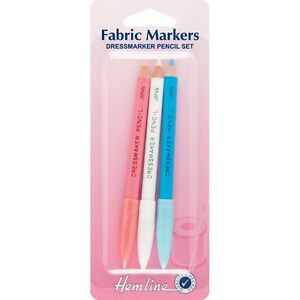 Dressmaker Chalk Pencils Tailor Fabric Marker Pencil Set ...