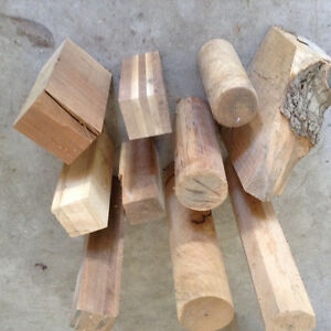 Blanks for woodturning projects