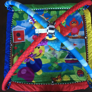 Baby Einstein caterpillar and friends play mat and gym