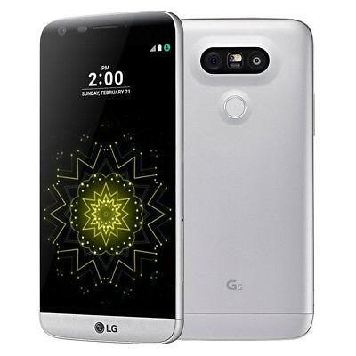 LG G5 VS987 - 32GB - Silver (Verizon) Smartphone - Pristine Condition (A)