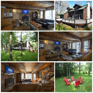 Available May 24 Weekend - 6 Bed Blue Mountain Cottage Sleeps 14