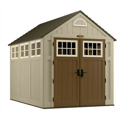 Suncast Alpine Resin Storage Shed 7'x10' new in unopened boxes    model BMS8000 Suncast Resin Storage