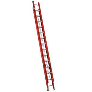 Louisville 28' fiberglass extension ladder