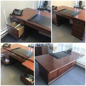 """Arlington Executive Conference Desk / Library Desk 72"""" x 36"""""""