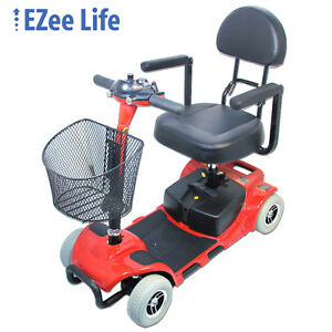 mobility scooter, portable almost new 3&4 wheel
