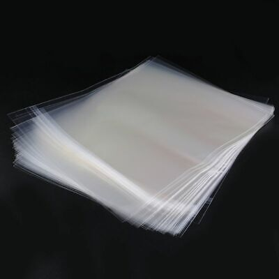 4 Mil 50 ResealablePlastic Vinyl Record Outer Sleeves For 12