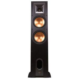 Klipsch R28F Tower Speaker - Brushed Black - Single New open Box