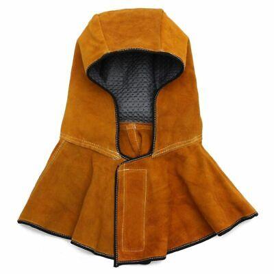 Leather Welding Hood Helmet Welder Mask Protector Cap Electric Work Safety Tool