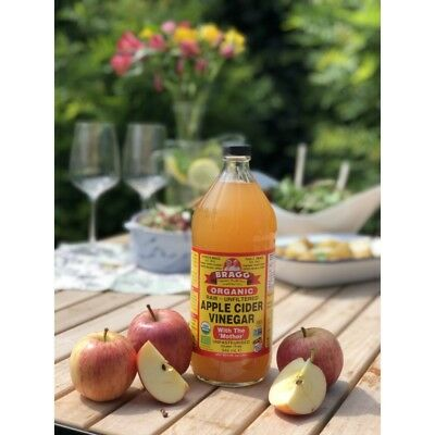 Braggs Organic Apple Cider Vinegar 946 ml (UK & Eu Sole Distributor)