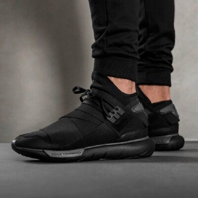ec256a392 New Arrival Authentic Adidas Y-3 QASA HIGH Men s Breathable Running Shoes  Sports
