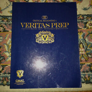 Critical Reasoning 1 - Veritas Prep GMAT