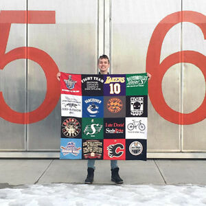 Turn your memories into a T-shirt Quilt!