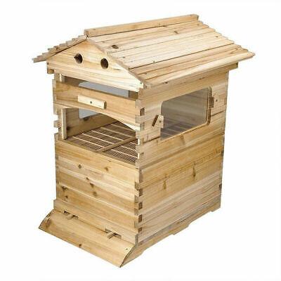 Upgraded Beekeeping Beehive House Brood Cedarwood Wooden Box Set