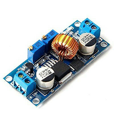 1pc 5a Dc-dc Step Down Adjustable Power Supply Module Led Lithium Charger Module