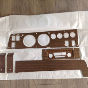 Classic Mopar 1970 B-body Woodgrain Rally Dash set