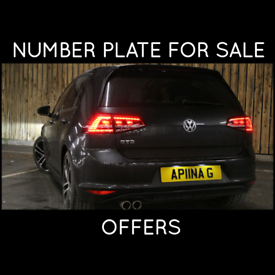 APNA G PRIVATE NUMBER PLATE