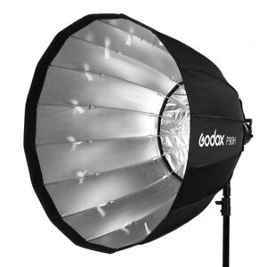 GodoxP90H/P120H Deep Parabolic Softbox with Bowens Mount Adapter