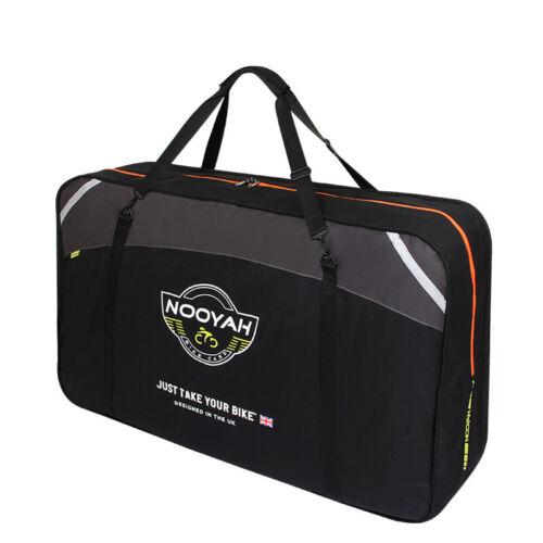New NOOYAH MTB Road Hybrid Mountain Bike Safety Travel Bag Transport Case BK011
