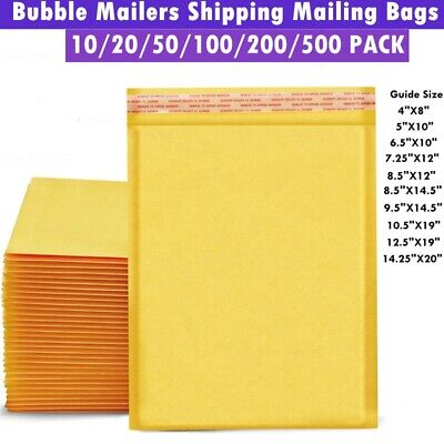Large Bubble Mailing Padded Envelopes Kraft Bubble Mailers Bubble Shipping Bags