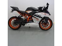 KTM RC 390. ONLY 2405 MILES