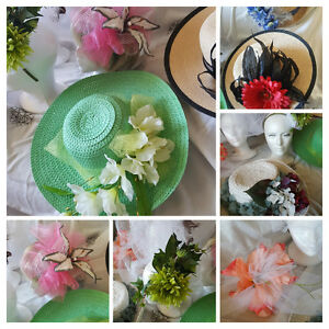 Fascinators, Headpieces, Hats & More